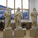 New Church - Statues Being Built photo album